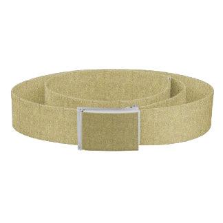 Gold Canvas Belt