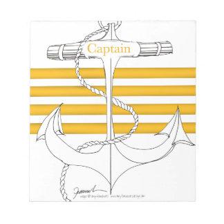 gold captain, tony fernandes notepad