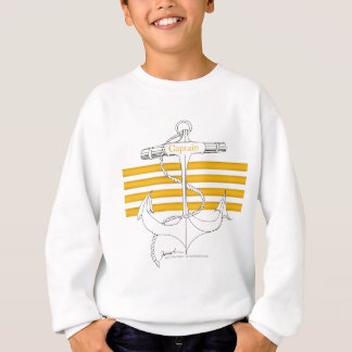 gold captain, tony fernandes sweatshirt