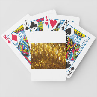 Gold Ceiling Abstract Art Bicycle Playing Cards