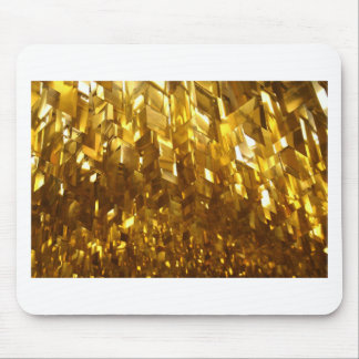 Gold Ceiling Abstract Art Mouse Pad