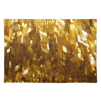 Gold Ceiling Abstract Art Placemat