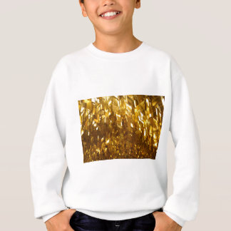 Gold Ceiling Abstract Art Sweatshirt