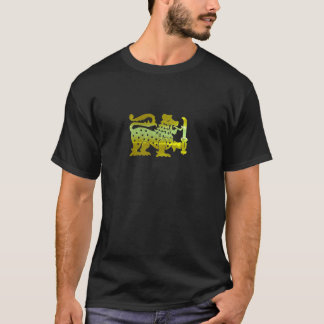 Gold Ceylon Lion T-Shirt