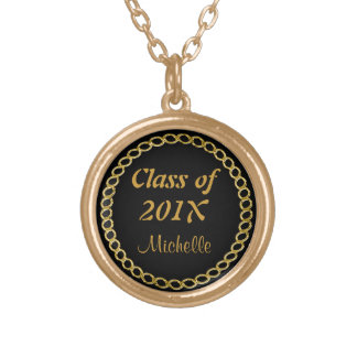 Gold Chain Graduate Necklace