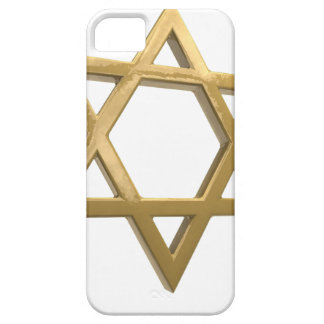 gold chanukkah star of david iPhone 5 cover