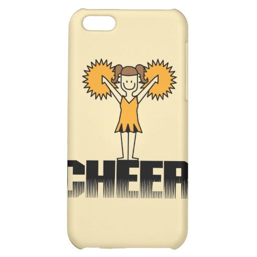 Gold Cheerleading and Gifts iPhone 5C Cover