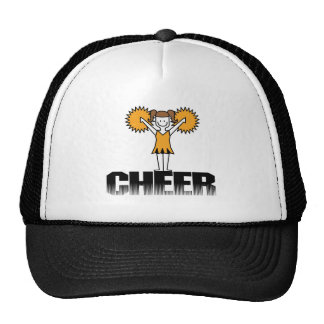 Gold Cheerleading T-shirts and Gifts Cap