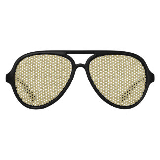 gold chevron aviator sunglasses
