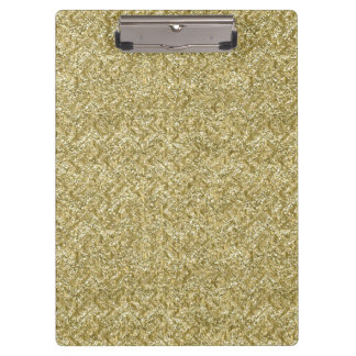 gold chevron clipboard