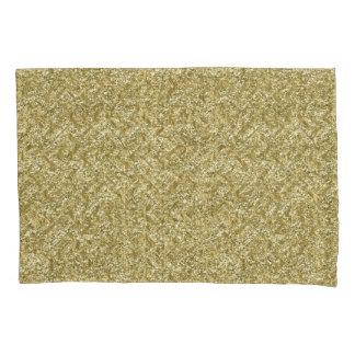 gold chevron pillowcase