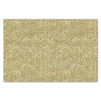 Gold Chevron Tissue Paper