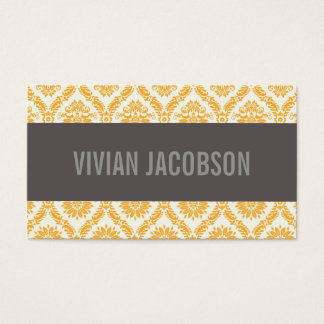 GOLD CHIC DAMASK | BUSINESS CARDS