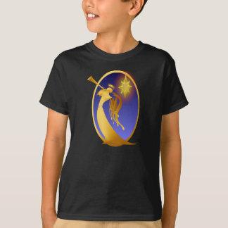 Gold Christmas Angel T-Shirt