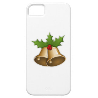 Gold Christmas Bells iPhone 5/5S Case