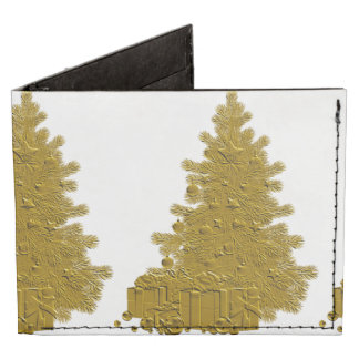 Gold Christmas Tree with Gifts