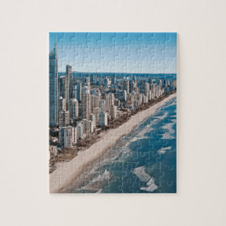 Gold Coast Australia Aerial View Jigsaw Puzzle