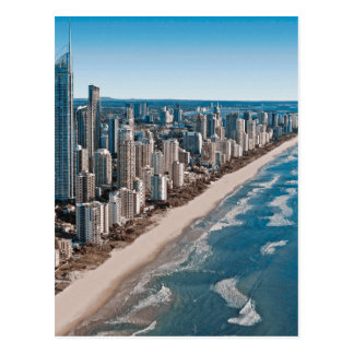 Gold Coast Australia Aerial View Postcard