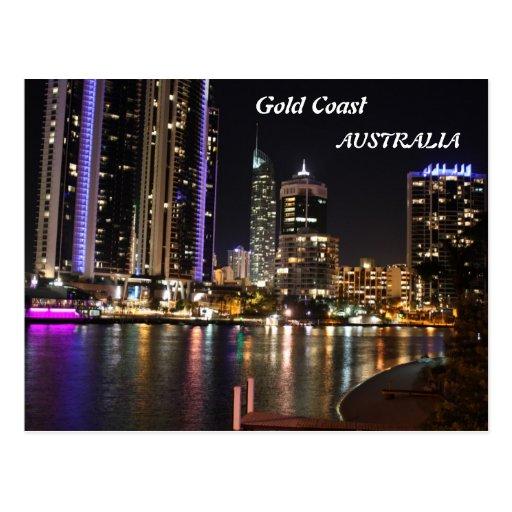 Gold Coast Australia Post Card