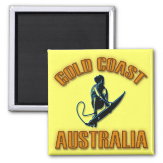 GOLD COAST AUSTRALIA REFRIGERATOR MAGNET