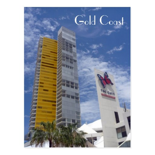 gold coast broad beach post cards