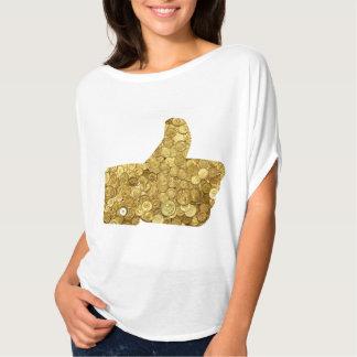 Gold Coin Like TShirt