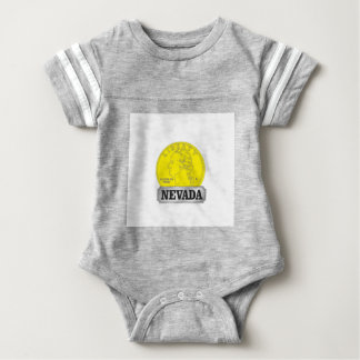 Gold Coin of Nevada Baby Bodysuit