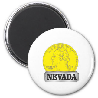 Gold Coin of Nevada Magnet