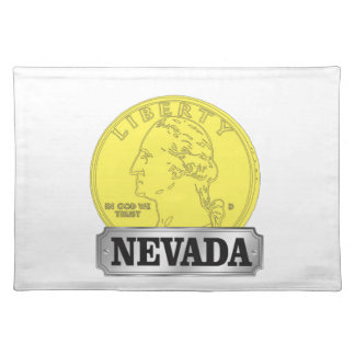 Gold Coin of Nevada Placemat