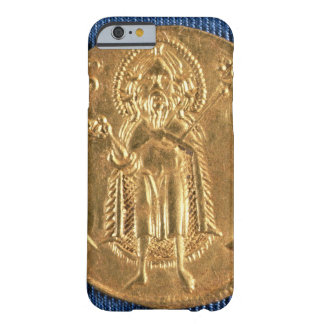 Gold coin with St John the Baptist 16th century iPhone 6 Case