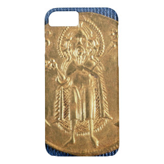 Gold coin, with St. John the Baptist, 16th century iPhone 7 Case