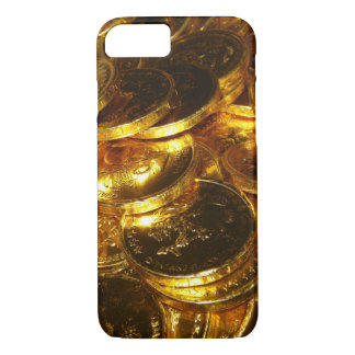 GOLD COINS 1 iPhone 7 CASE