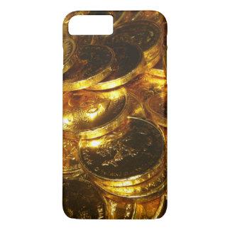 GOLD COINS 1 iPhone 7 PLUS CASE