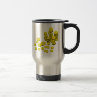 Gold Coins Coffee Mugs