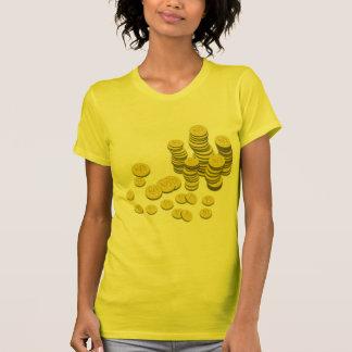 Gold Coins Tee Shirt