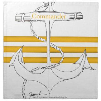 gold commander, tony fernandes napkin