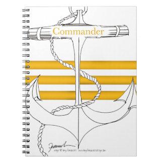 gold commander, tony fernandes notebook