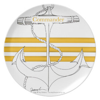 gold commander, tony fernandes plate