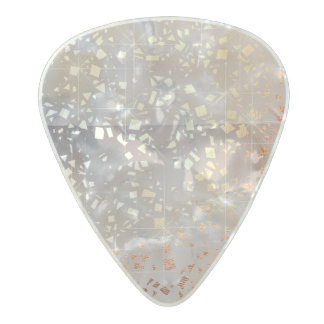 Gold Copper Foil Sparkle Ombre Metallic Sparkle Pearl Celluloid Guitar Pick