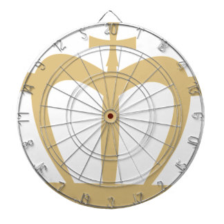 Gold Crown Dartboard