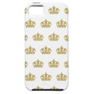 Gold Crown pattern Apple Iphone case