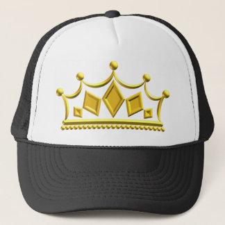 Gold Crown Trucker Hat