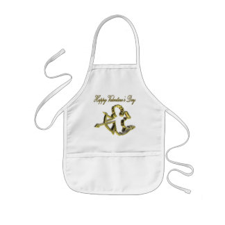 Gold Cupid T-shirts and Gifts Kids Apron