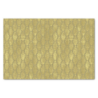 Gold Damask Tissue Paper
