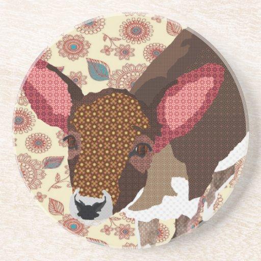 Gold Darling Deer  Coaster
