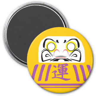 Gold Daruma is for wealth and prosperity GOALS Key Magnet