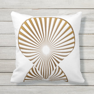 Gold Deco pillow