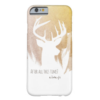 Gold Deer Patronus Phone Cases