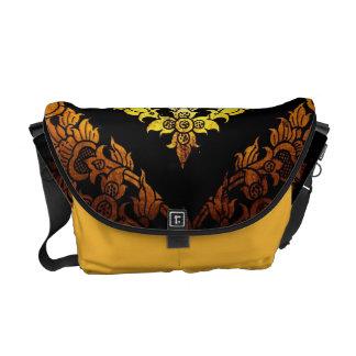 Gold design messenger bags
