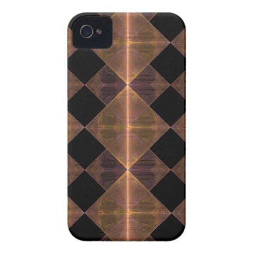Gold Diamond Pattern Blackberry Bold Case